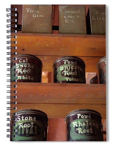 Ye Olde Time Pharmaceuticals Spiral Notebook