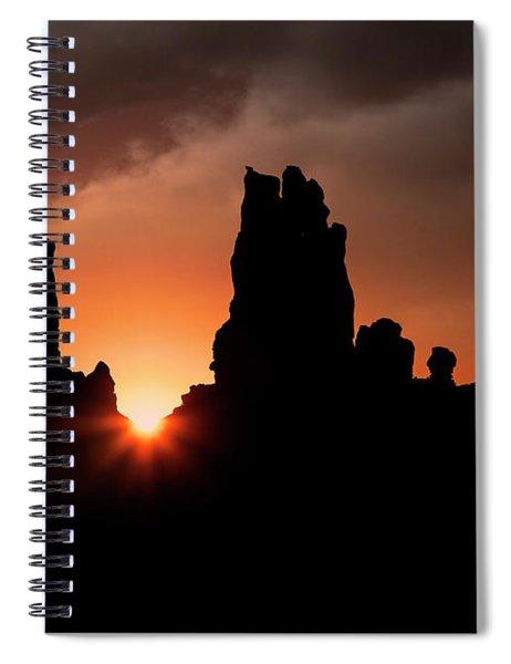 Yei Bi Chei Dancers Spiral Notebook by Scott Kemper