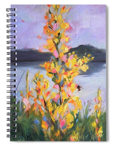 Yellow Blaze Spiral Notebook