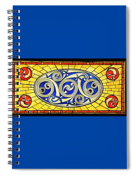 Yellow Brick World Spiral Notebook