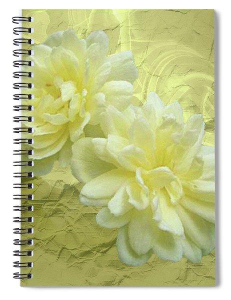 Yellow Foil Spiral Notebook