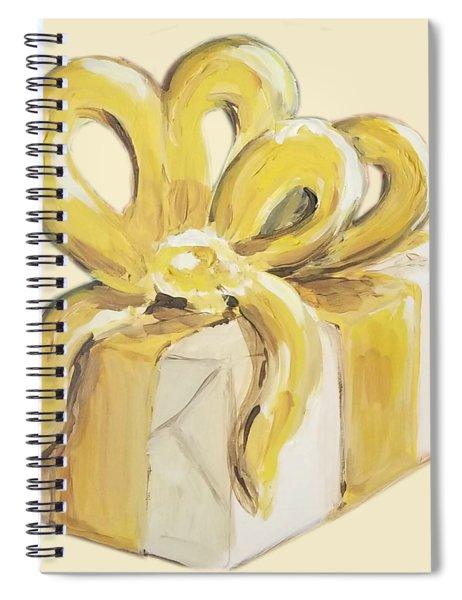 Yellow Present Spiral Notebook