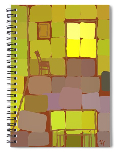 Yellow Room Spiral Notebook