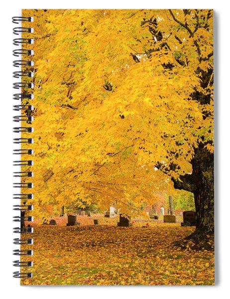 Yellow Show Spiral Notebook
