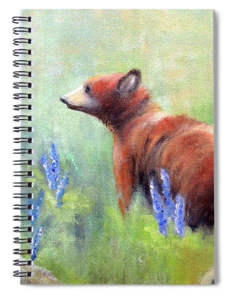 Yellowstone Black Bear Spiral Notebook