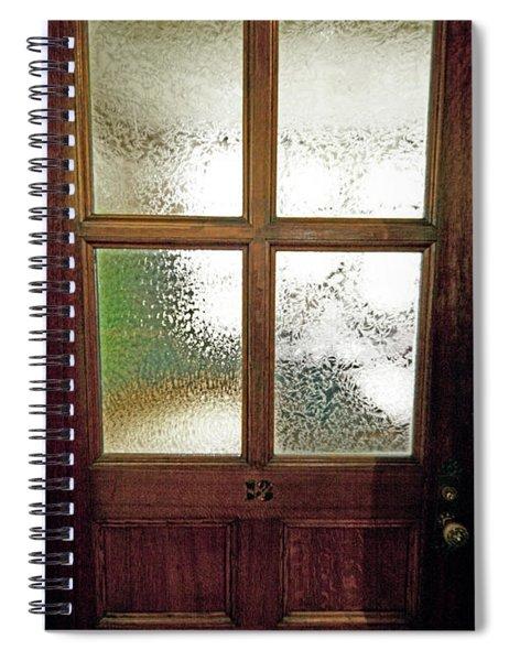 Yerkes Observatory Williams Bay Door 13 Jele3503 Spiral Notebook