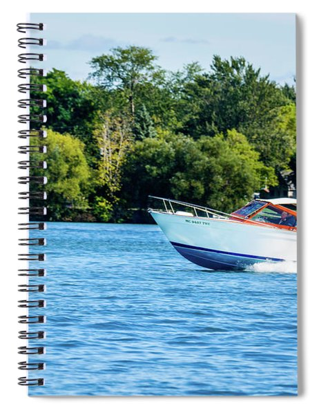 Yes Its A Chris Craft Spiral Notebook