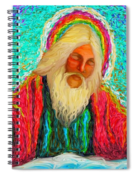 Yhwh Over Us Spiral Notebook