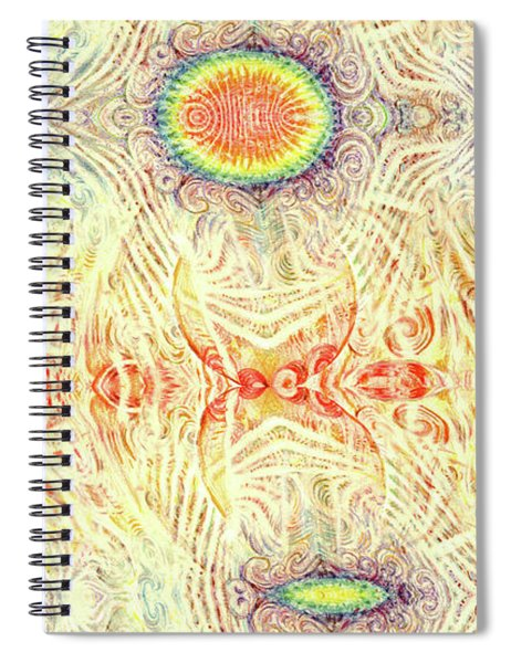 Yonic Rainbow Spiral Notebook