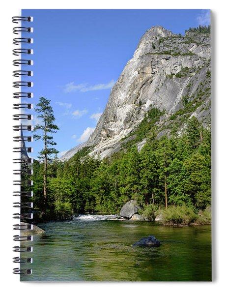 Yosemite Mirror Lake, Lower Pool Spiral Notebook