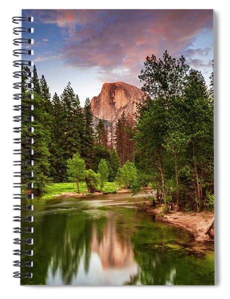 Yosemite Sunset - Single Image Spiral Notebook