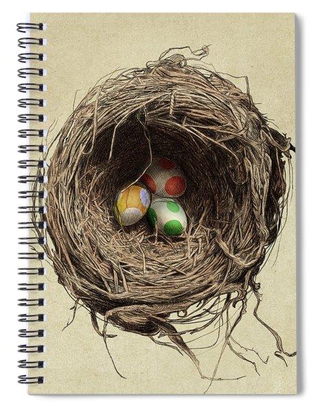Yoshi Eggs Spiral Notebook
