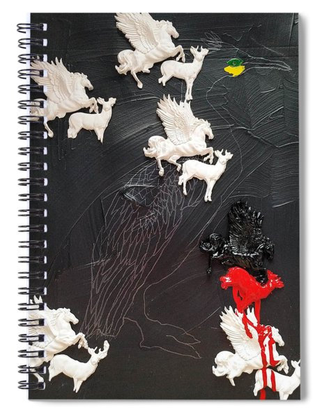 You Can Spot A Stallion A Mile Away Spiral Notebook