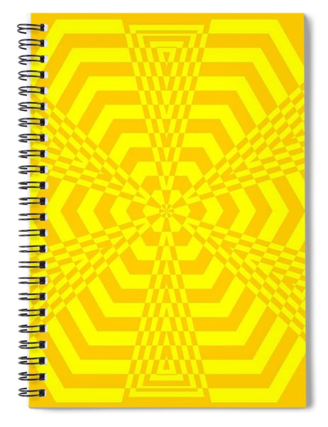 Young At Heart Yellow Spiral Notebook