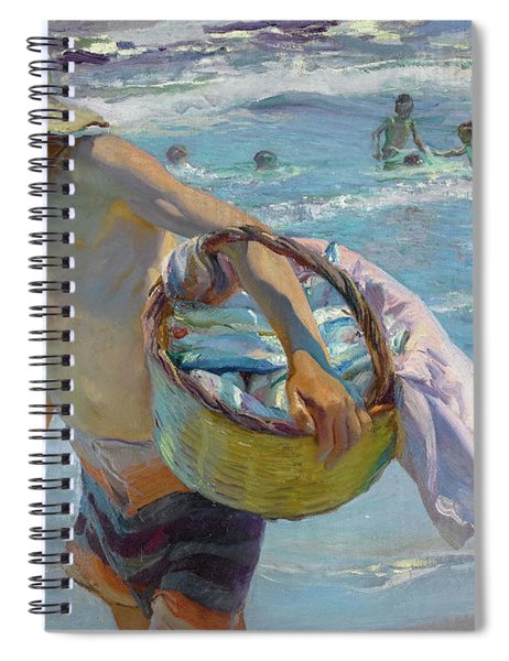 Young Fisherman, Valencia, 1904 Spiral Notebook