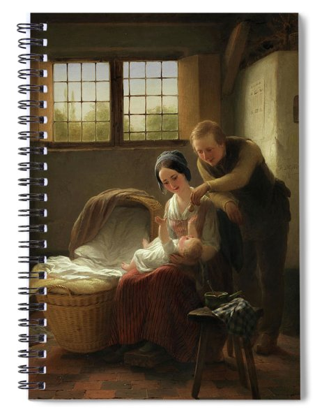 Young Parents Spiral Notebook