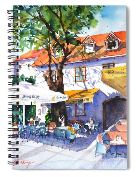 Zagreb Cafe #3 Spiral Notebook