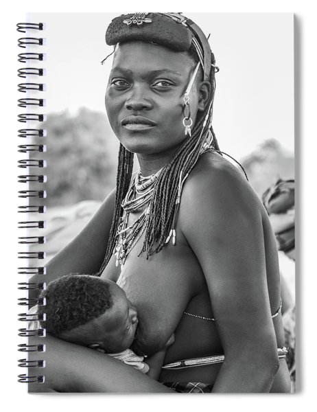 Zemba Mother And Child Spiral Notebook