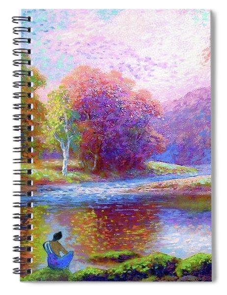 Zen Garden Meditation Spiral Notebook