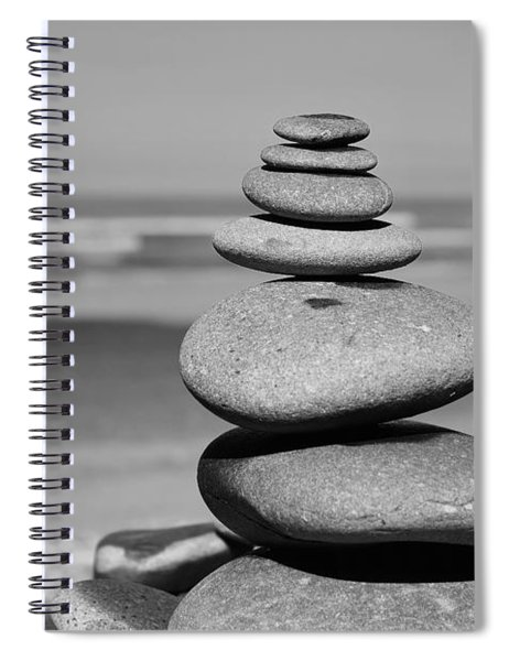 Zen Shore Spiral Notebook