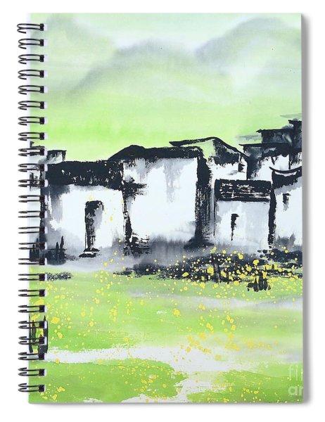 Zhongguo Cun - Chinese Village Spiral Notebook