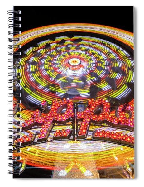 Zipper #4 Spiral Notebook