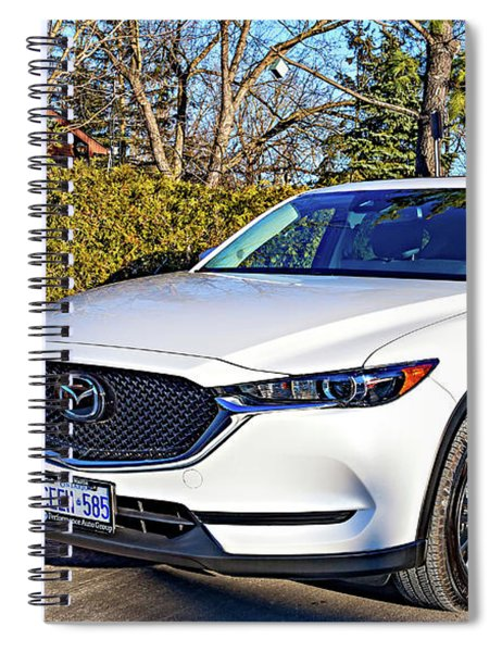 Zoom Zoom - Mazda Cx5 Spiral Notebook