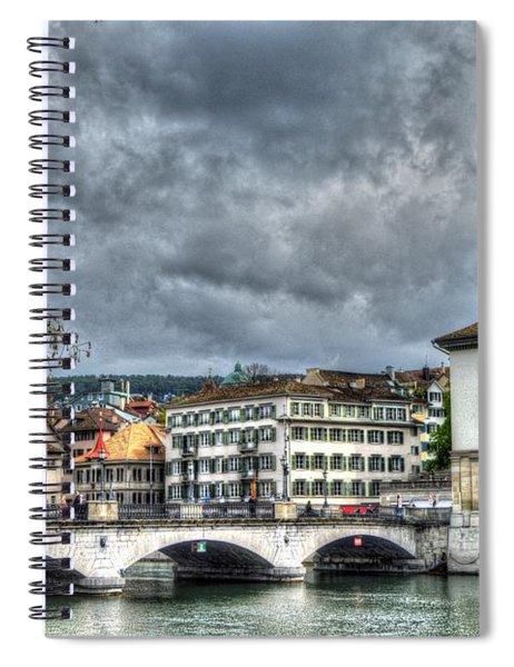 Zurich Switzerland Spiral Notebook
