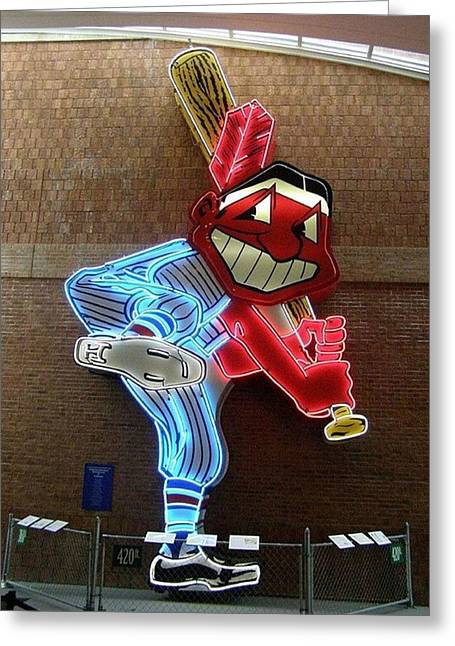 Chief Wahoo Greeting Card