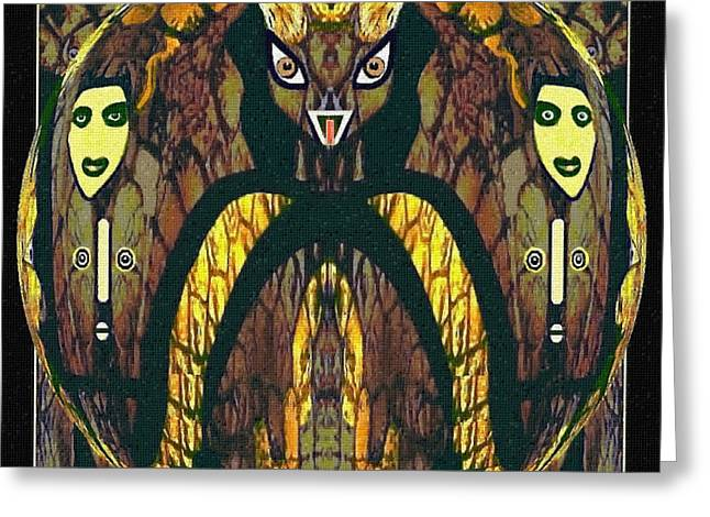 056 - A Demon   Greeting Card