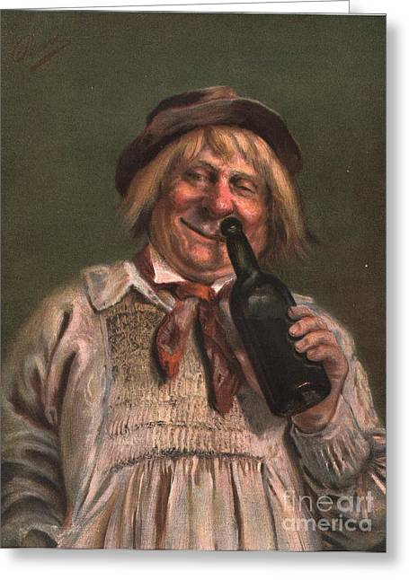 1890s Uk Expressions Smell Drunks Greeting Card by The Advertising Archives