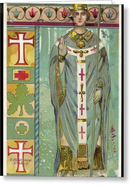 A french roman catholic bishop drawing by mary evans picture library a french roman catholic bishop greeting card by mary evans picture library m4hsunfo Image collections