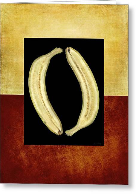 Banana Bo Bana Greeting Card by Fran Riley
