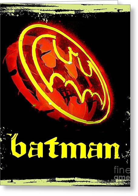Batman In Halifax Greeting Card