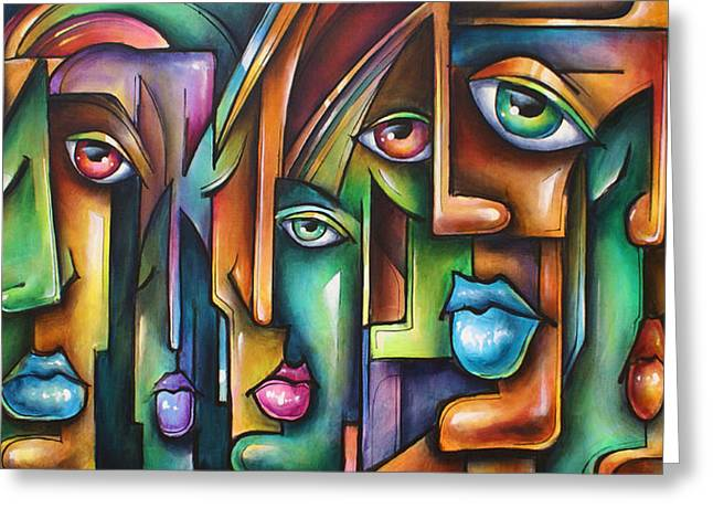 ' Believers ' Greeting Card by Michael Lang