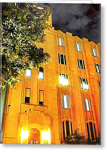 Bell Building Hamilton Ontario Greeting Card by Danielle  Parent