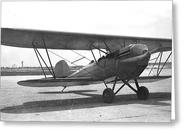 Bird A With Ox-5 Engine Greeting Card by Hank Clark