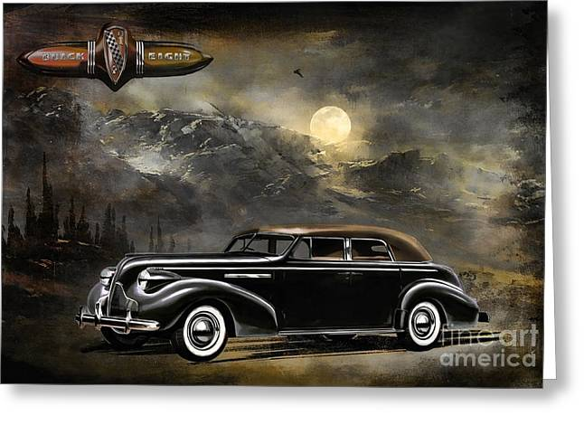Buick 1939 Greeting Card