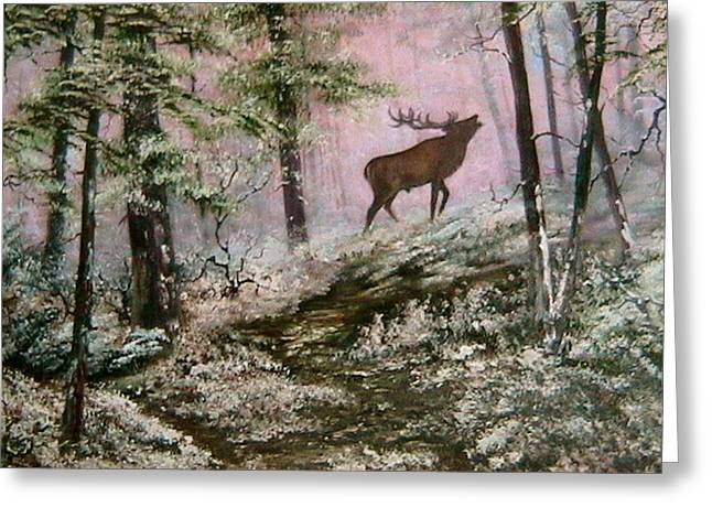 Call Of The Wild Greeting Card by Jean Walker