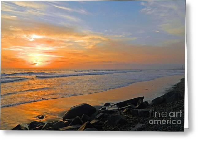 Carlsbad State Beach Greeting Card