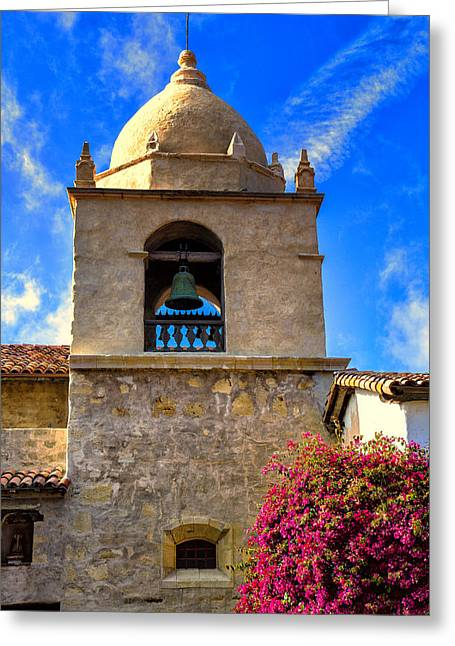 Carmel Mission Greeting Card by Garry Gay