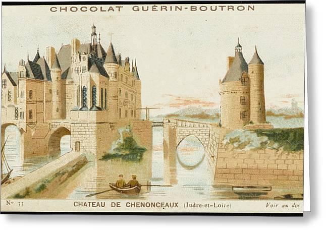 Chateau De Chenonceaux Greeting Card