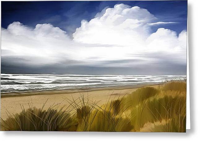 Coastal Breeze Greeting Card