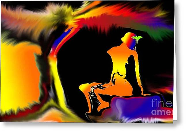 Colour Dreams Greeting Card by Martin Vincent