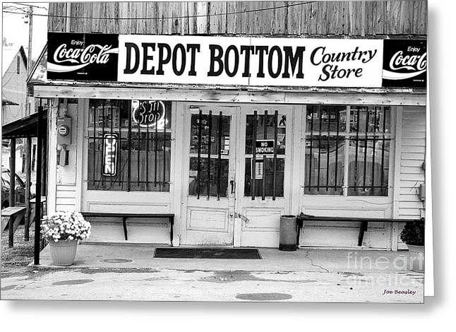 Depot Bottom Country Store Greeting Card by   Joe Beasley