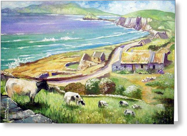 Dingle Co Kerry Ireland Greeting Card by Paul Weerasekera