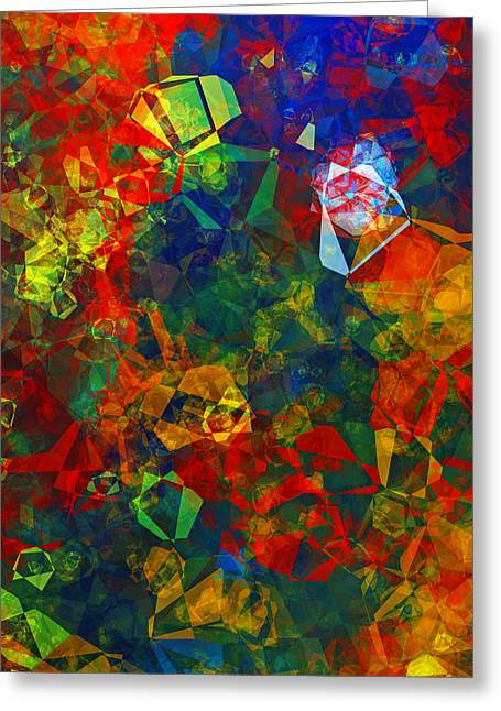 Electronics Greeting Card by Patricia Motley