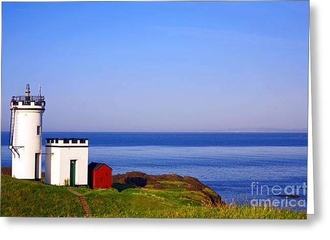 Elie Lighthouse Greeting Card
