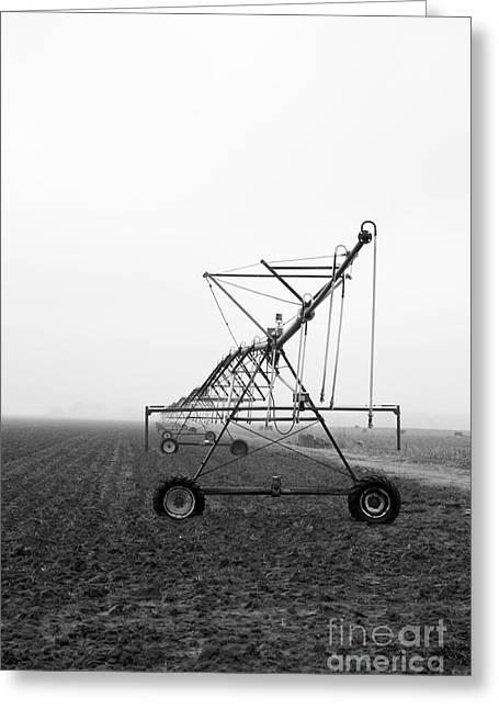 Farmground Springler System Greeting Card