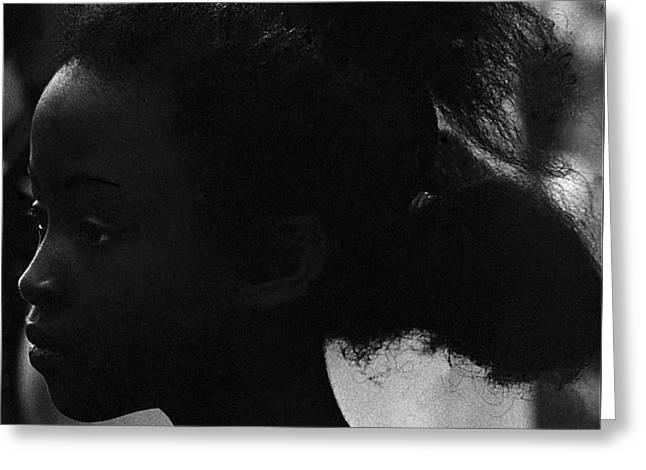 Film Homage Oscar Micheaux And Paul Robeson O'odham Tash Casa Grande Arizona 1969-2008 Greeting Card